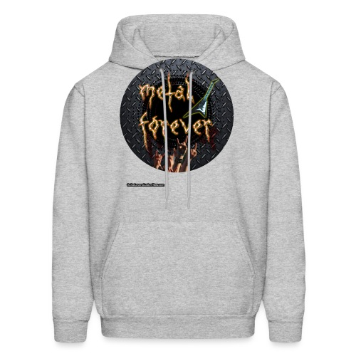 MetalForever by GuitarLoversCustomTees png - Men's Hoodie