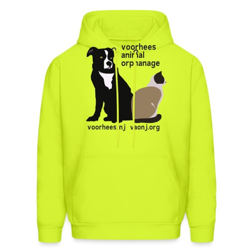 Dog and Cat - Men's Hoodie