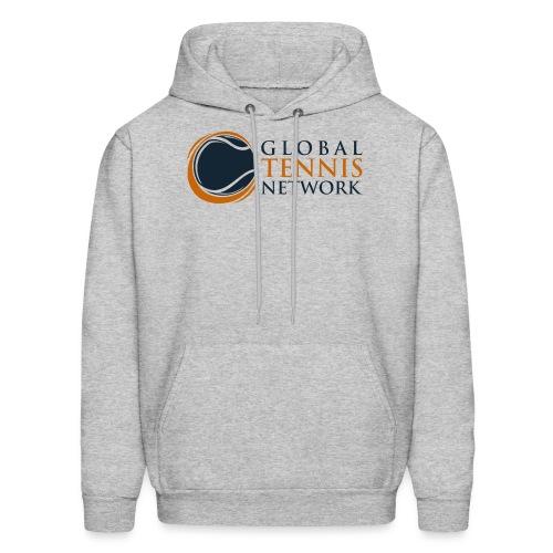 Global Tennis Network on White - Men's Hoodie