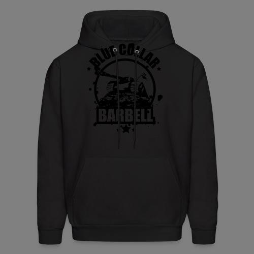 logo transparent double - Men's Hoodie