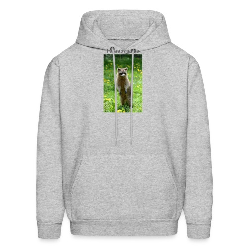 Raccoon ,I wantz cuddlz t-shirt - Men's Hoodie