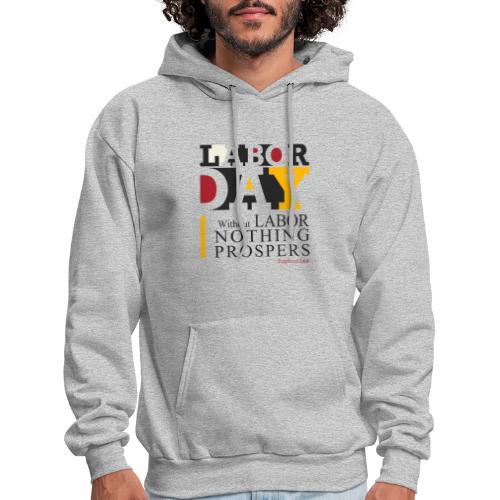 labor day 2018 t-shirt - Men's Hoodie