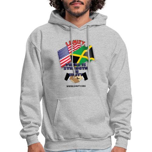Jamaican flagE01 - Men's Hoodie