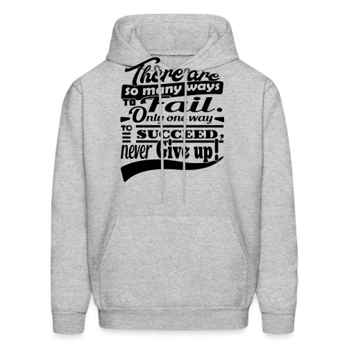 Don't give up - Men's Hoodie