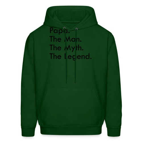 Papa The Man The Myth The Legend - Men's Hoodie