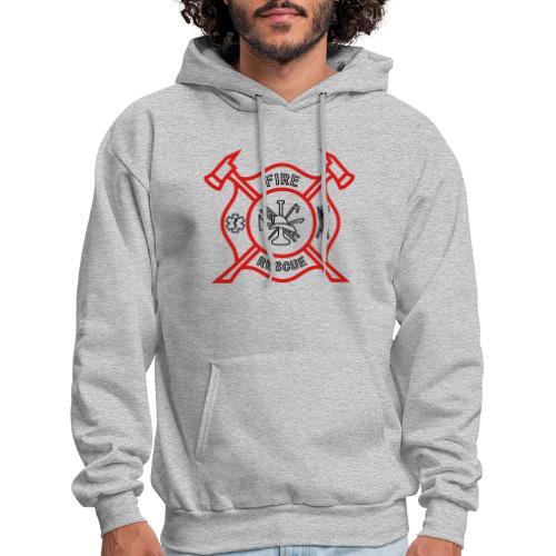 Fire Rescue - Men's Hoodie