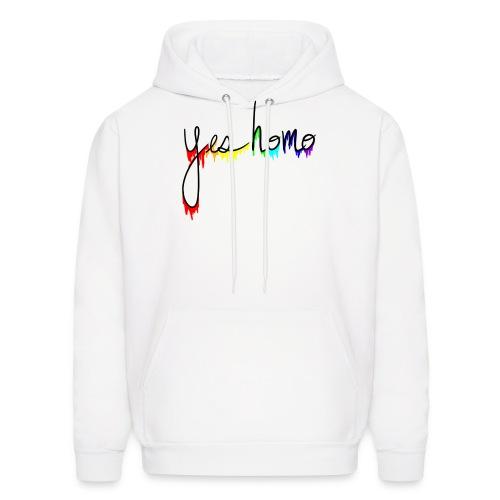 Yes Homo Rainbow Drip - Men's Hoodie