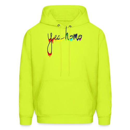 Yes Homo Rainbow Drip - Men's Hoodie