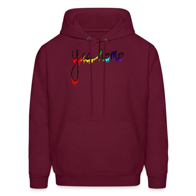 """Yes Homo"" Rainbow Drip"