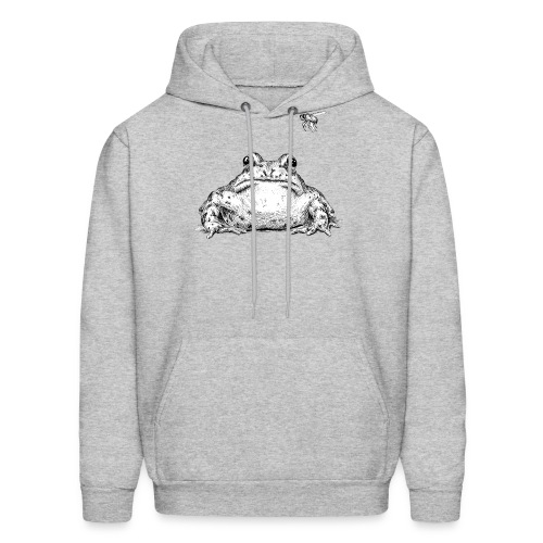 Frog with Fly by Imoya Design - Men's Hoodie