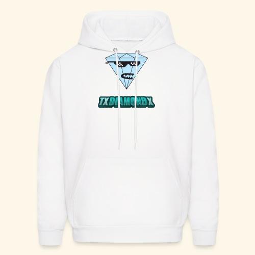Txdiamondx Diamond Guy Logo - Men's Hoodie