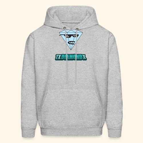 Txdiamondx Diamond Guy Logo - Men's Hoodie