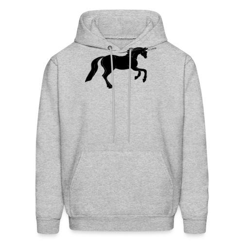 unicorn black - Men's Hoodie