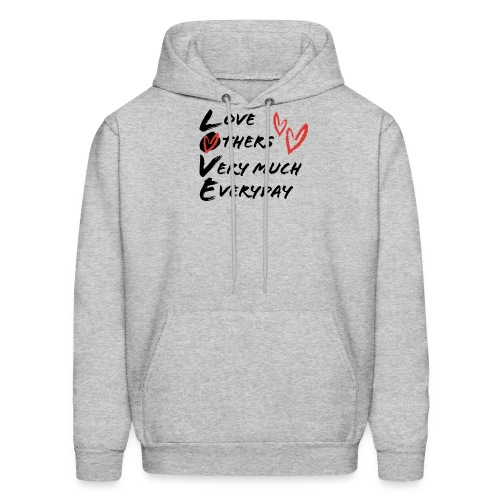 L.O.V.E Show Original Genuine Merchandise - Men's Hoodie