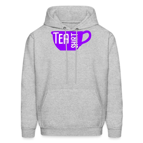 Tea Shirt Purple Power of Tea - Men's Hoodie