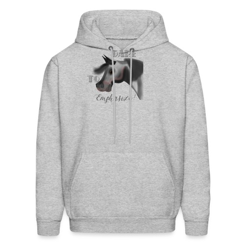 Dare to Emphasize Merch - Men's Hoodie