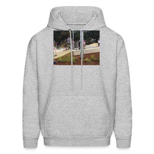 scate park no sleve t-shairt - Men's Hoodie