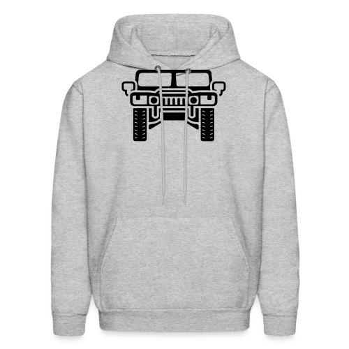 Hummer/Humvee illustration - Men's Hoodie