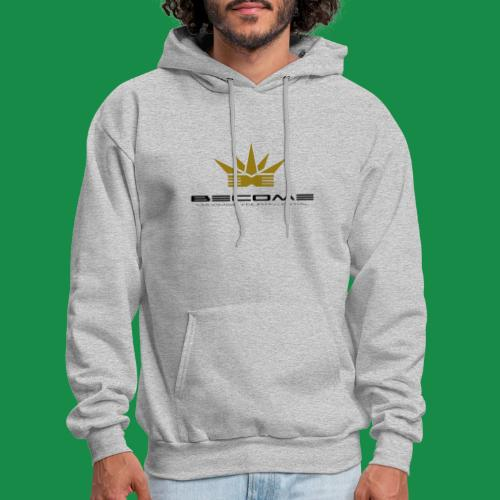 makare BLACK w Gold crown - Men's Hoodie