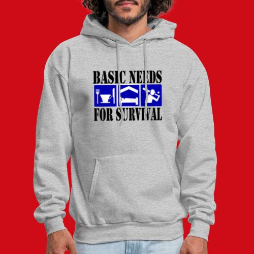 Softball/Baseball Basic Needs - Men's Hoodie
