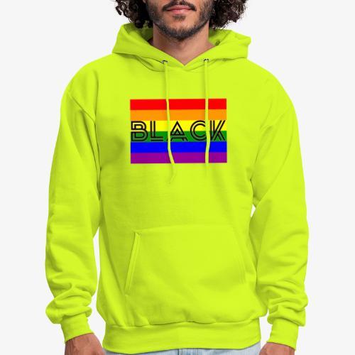 Black LGBTQ - Men's Hoodie
