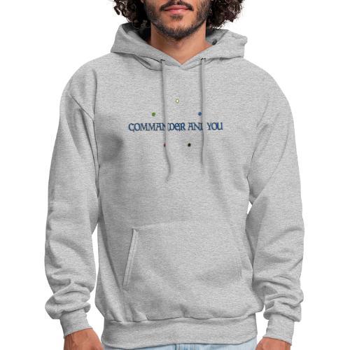 Commander and You Logo - Men's Hoodie