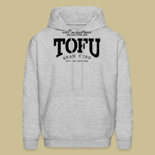 Tofu (black oldstyle) - Men's Hoodie
