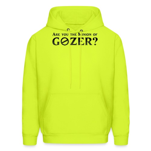Are you the minion of Gozer? - Men's Hoodie