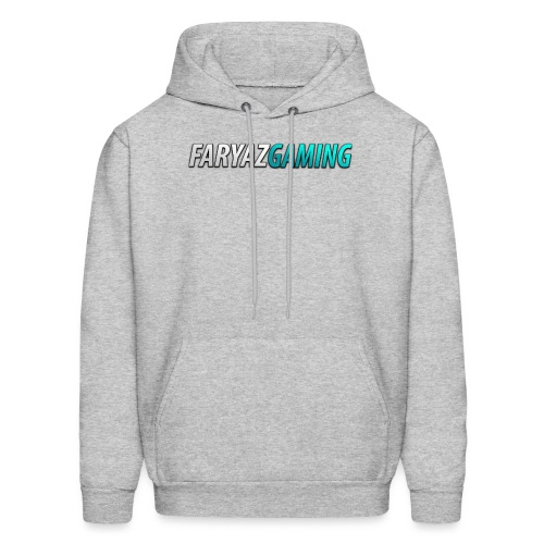 FaryazGaming Theme Text - Men's Hoodie