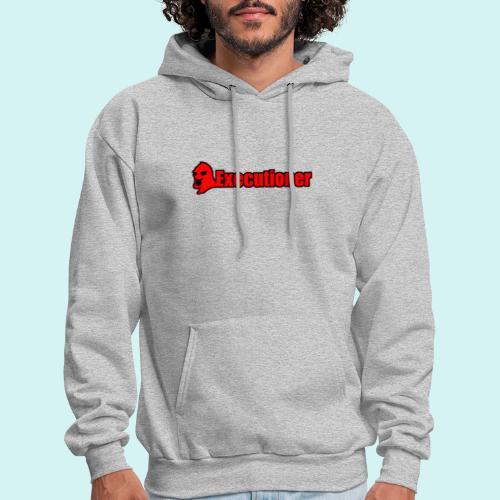 Executioner basic line logo - Men's Hoodie