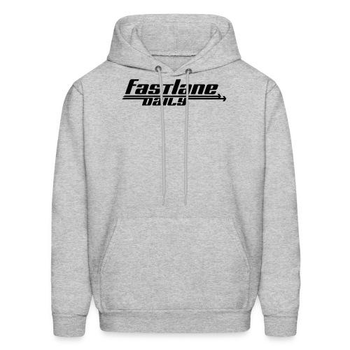 Fast Lane Daily logo - Men's Hoodie