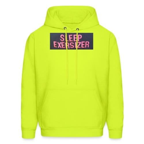 Sleep Exersizer Words - Men's Hoodie