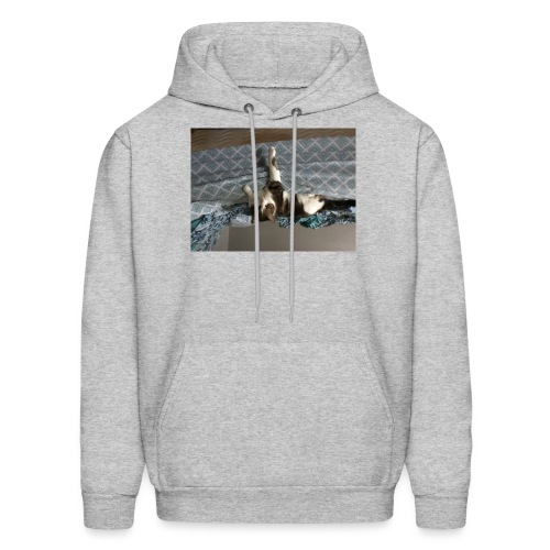 Lol da upside down fat cat - Men's Hoodie