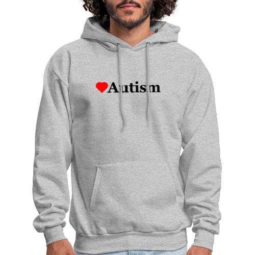 Heart Autism b - Men's Hoodie
