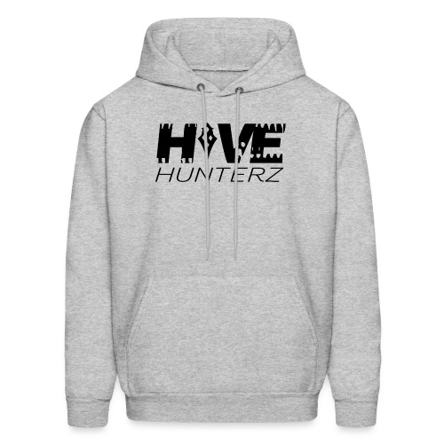 Hive Hunterz Black Logo - Men's Hoodie
