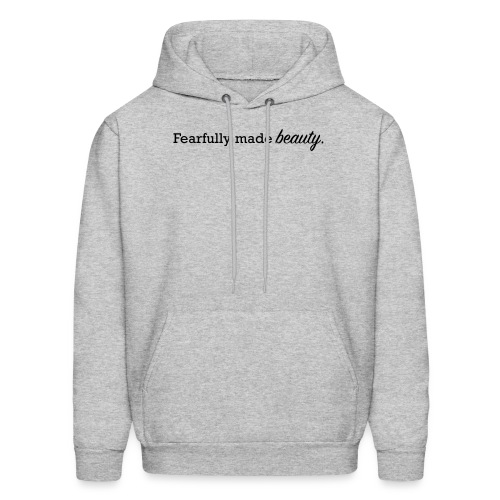 fearfully made beauty - Men's Hoodie