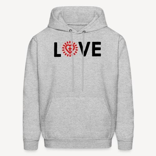 LOVE - Men's Hoodie