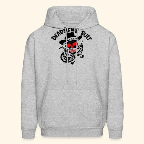 Deadmen's Suit Bad Luck#Skull - Men's Hoodie