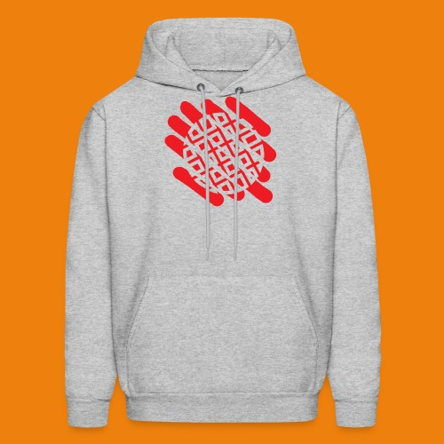 Waffles without Borders Logo - Men's Hoodie