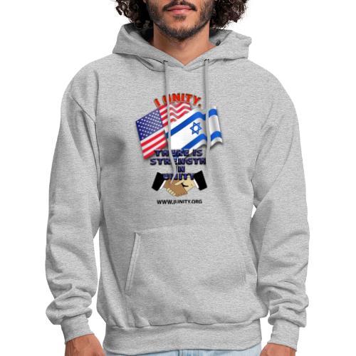 ISRAEL USA E02 - Men's Hoodie