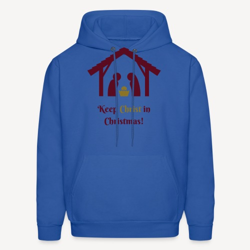 KEEP CHRIST IN CHRISTMAS - Men's Hoodie
