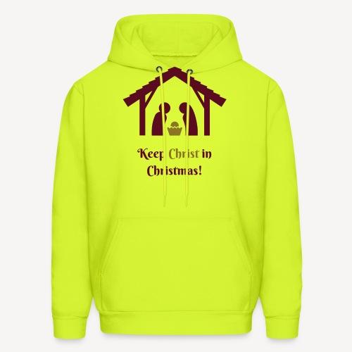 KEEP CHRIST IN CHRISTMAS - Men's Hoodie