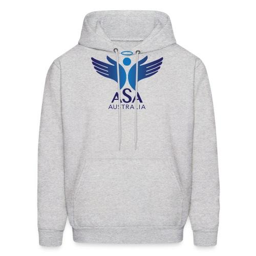 3459 Angelman Logo AUSTRALIA FA CMYK - Men's Hoodie