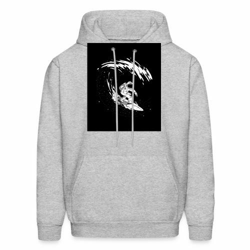 Astronaut Surf tshirt 01 HQ 01 - Men's Hoodie