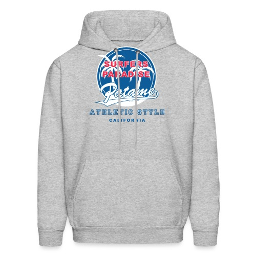 Surfers Paradise Athletic Blue - Men's Hoodie