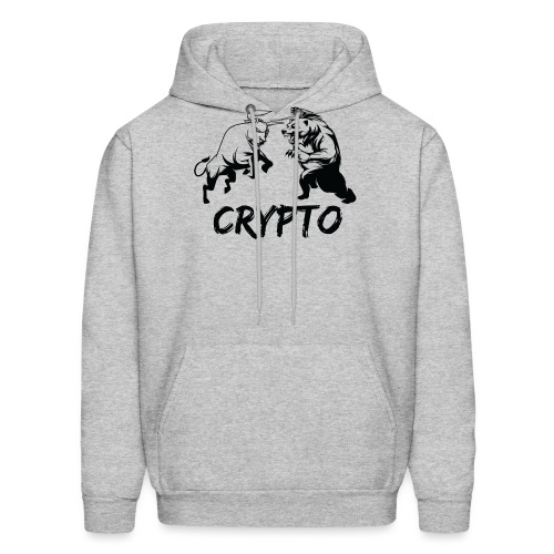 CryptoBattle Black - Men's Hoodie