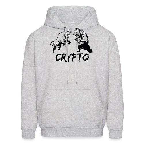 CryptoBattle Black - Men's Hoodie