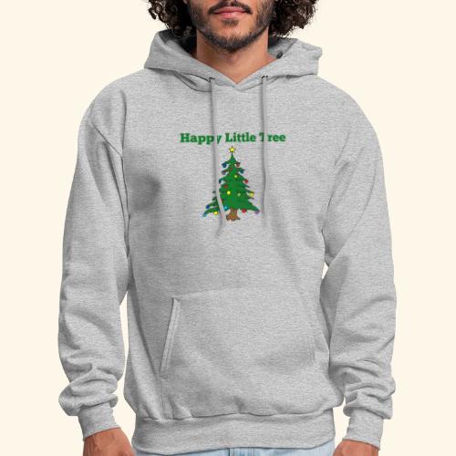 Christmas Tree HAPPY TREE TEE - Men's Hoodie