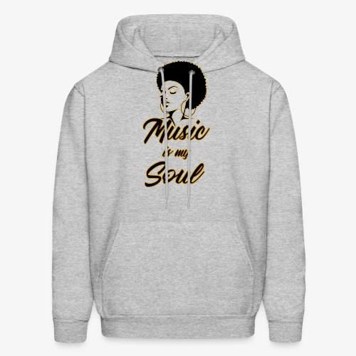 Music Is My Soul 2 - Men's Hoodie