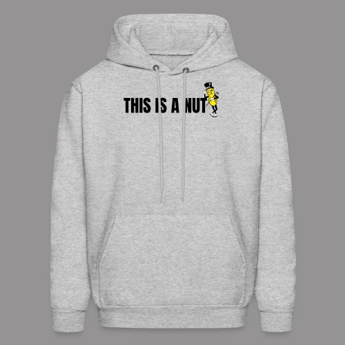 this is nut - Men's Hoodie
